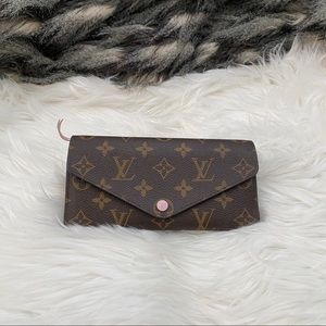 Louis Vuitton Josephine wallet rose ballerine